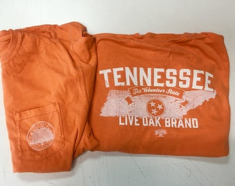 Live Oak Tennessee state tee shirt NEW