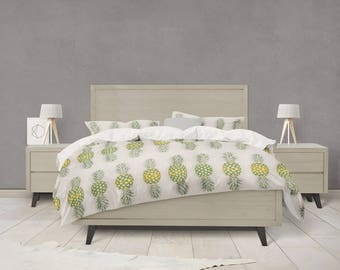 Pineapple candy duvet cover
