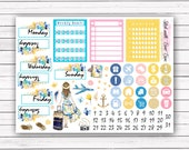 NEW FORMAT || Travel with Me add-on stickers || Erin Condren planner vertical layout