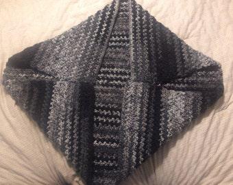 Hand crocheted shrug sweater