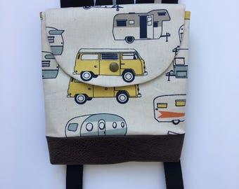 Toddler backpack, toddler backpack girl, toddler backpack boy, toddler bag, Vintage RV O'Mac Pack, kid backpack