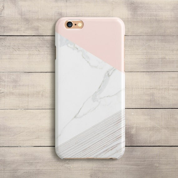 iphone 6 coque marbre rose