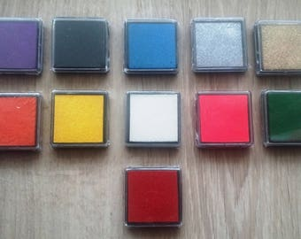 Ink pad, long lasting for any stamp marking Scrapbooking