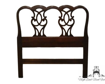 HICKORY FURNITURE American Masterpiece Chippendale Mahogany Twin Headboard 1760-40
