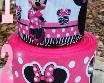 Minnie ribbon,  minnie ears, ribbon,  crafts, minnie mouse