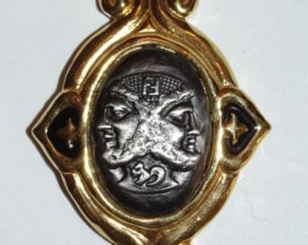 Rare Fendi Janus Pin