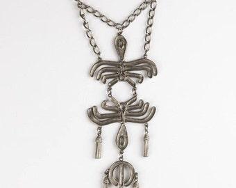Runway Tribal Tassel Necklace