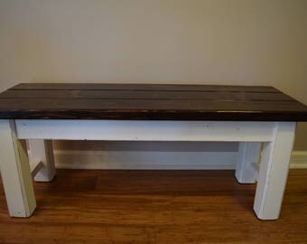 Character Collection Farmhouse Bench