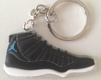 Keychain Jordan 11 XI space jam keychain