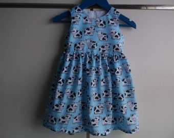 Cute cows dress