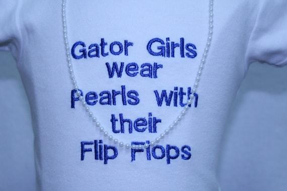 4abab6c2af34 DollyWollySewing - Florida Gator Girl T shirt dress