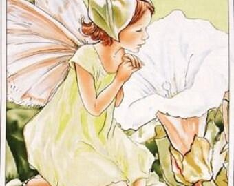 FABRIC DESTASH - Michael Miller - Apple Morning Flower Fairy Panel