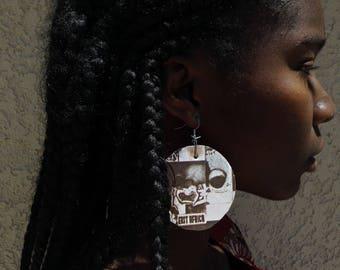 East Africa Organic Earrings