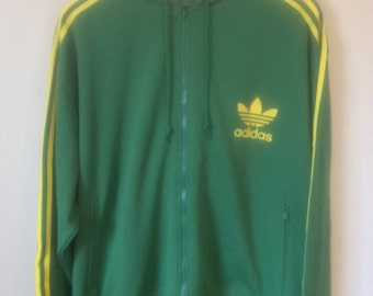 Vintage Hooded Adidas Jacket