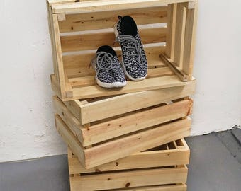 Wooden Crate / Wooden Box / Wood Decor
