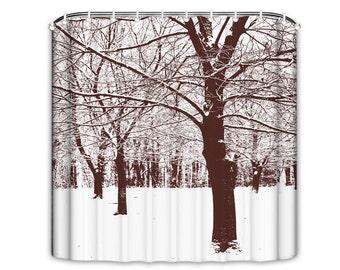 Curtains Ideas birch tree curtains : Christmas Gift Mermaid Shower Curtain Mermaid Underwater