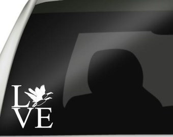 Love Goose Hunting Car Truck Decal, Goose Hunting Car Truck Decal, Goose Hunting Decal