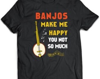 Banjos T-Shirt. Banjos tee present. Banjos tshirt gift idea. - Proudly Made in the USA!