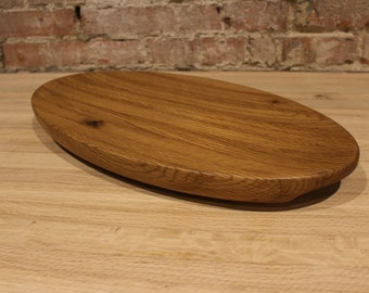 Oval Salad / Fruit Board, Oak