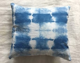 Indigo Dream Pillow • Hand Dyed, Filled With Lavender