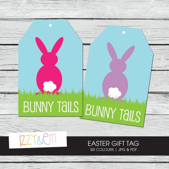 Printable Easter Tag