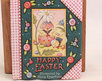 Illustrated Mary Engelbriet Happy Easter Miniature Book. NEW!