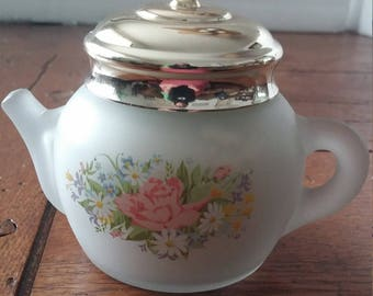 Avon Moonwind Powder Sachet Teapot (with powder)