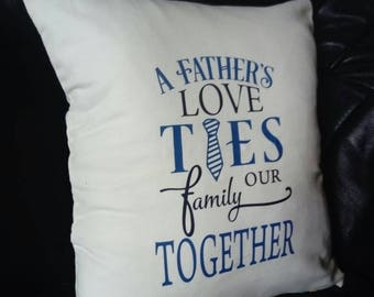 Father's day cushion