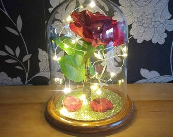 Enchanted Rose Beauty and The Beast inspired .. Small