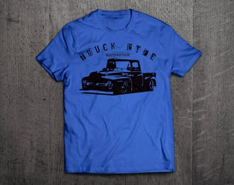 Truck Life shirts, Classic Ford t shirts, Trucker shirts, men t shirt, women shirts, cars shirts, Truck funny shirts Ford trucks tees Unisex