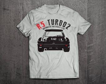 Renault shirts, Renault 5 Turbo t shirts, classic Renault turbo shirts, cars shirts, men t shirts, women t shirts, vintage cars t shirts
