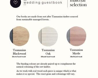 Rustic wedding wood guest book, unique guestbook, rustic guest book, custom guestbook, wedding gift guest Book Ideas   Medium (A5)
