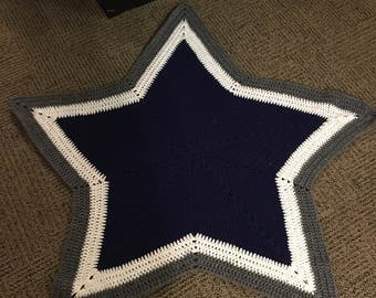 Cowboys and steelers baby blankets