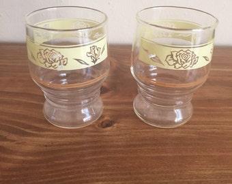 Rose Juice glasses