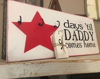 Daddy Deployment Countdown