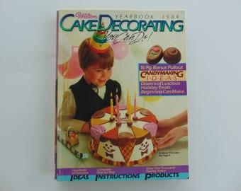 Wilton Yearbook 1984 Cake Decorating