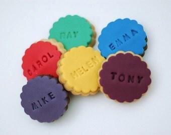 Mini Message Cookies / Name / Birthday / Thank You / I Love You
