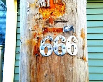 Telephone Pole in Salem - 666