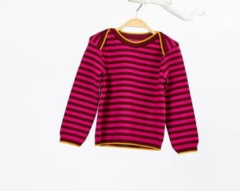 Cora knit sweater in Merino Wool
