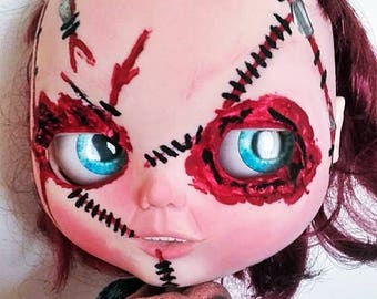 Custom Blythe Dolls For Sale by Ooak Custom blythe tbl doll CHUCKY