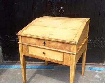 BEAUTIFUL Antique French Writing Desk with Lift Up Lid