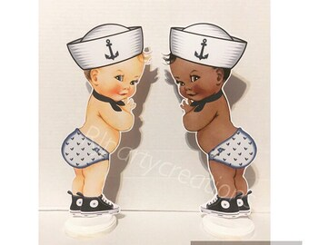 Sailor Baby Centerpiece