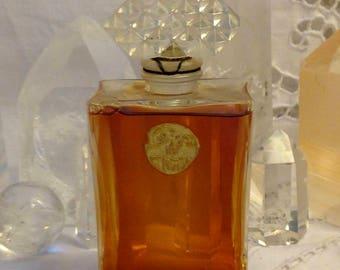 Coty, L'Origan, 50 ml. or 1.69 oz. Flacon, Pure Parfum Extrait, 1905, 1940, Paris, France ..