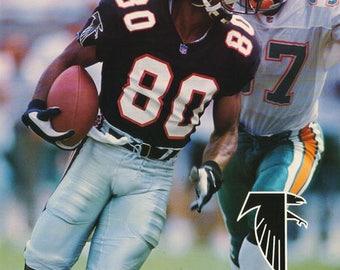 Andre Rison Atlanta Falcons 1994 Poster