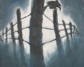 Reminiscence, Crow on a Fence