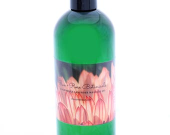 Lavender and Chamomile Massage Oil for both Adults and Children and Babies