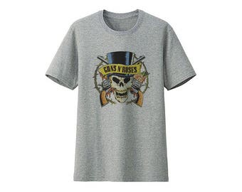 Guns N' Roses T- Shirt ( For You )Size xxs,xs,s,m,l,xl,xxl