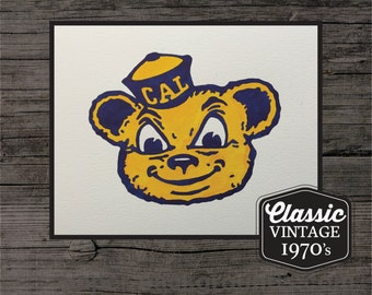 California Golden Bears Painting