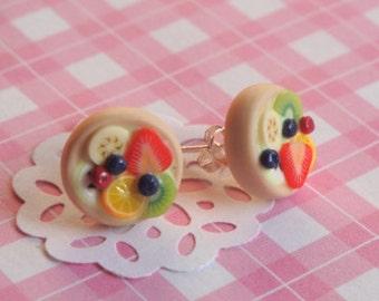 Fruit Tart Earrings