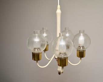 Vintage chandelier in the style of Hans Agne Jakobsson, 1960s